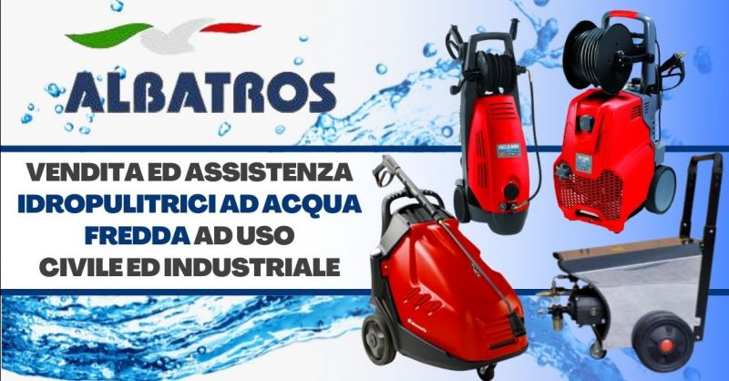Offerta vendita idropulitrici professionali industriali - Occasione assistenza idropulitrici acqua fredda Verona
