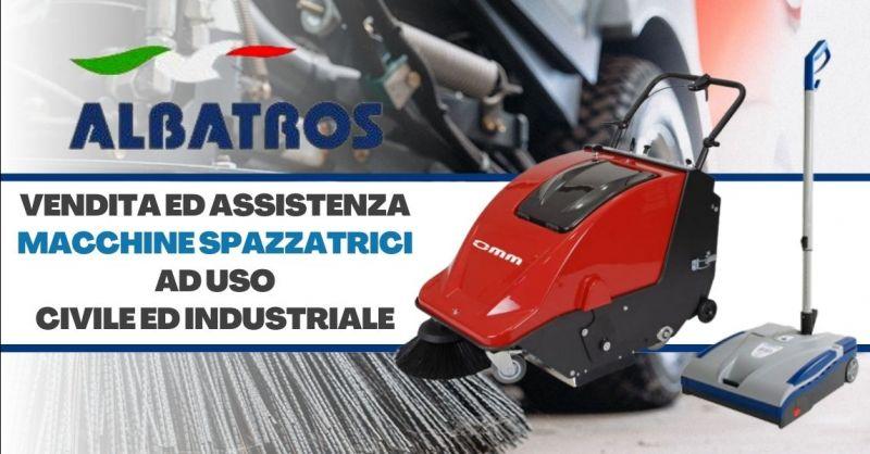 Offerta vendita spazzatrici industriali Verona - Occasione assistenza macchine spazzatrici professionali Verona