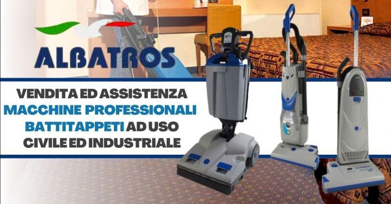 Offerta vendita assistenza battitappeti industriale - Occasione battitappeti professionale Lindhaus Verona