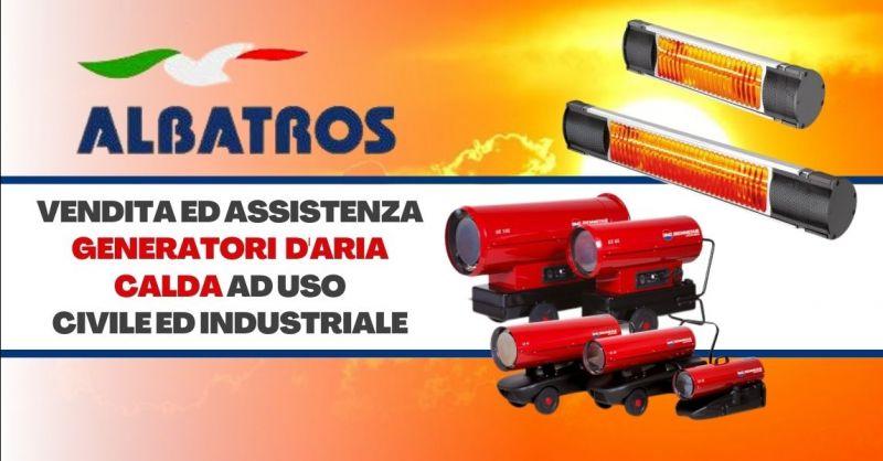 Offerta vendita generatori mobili ad aria calda - Occasione vendita riscaldatori a raggi infrarossi Verona