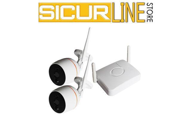 Offerta vendta Kit videosorveglianza - Promozione sistema smart wi-fi twins camera Verona