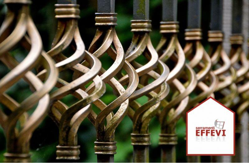 EFFEVI offerta grate di sicurezza piquadro - promozione sistemi di sicurezza