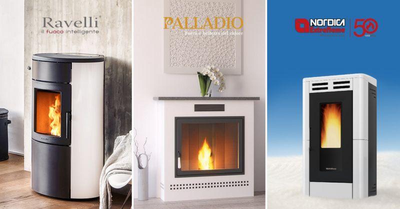 Offerta servizio professionale assistenza tecnica stufe Palladio Nordica Ravelli Torino