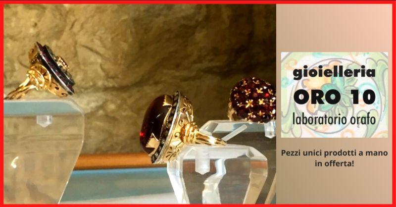 offerta gioielli pezzi unici scicli - occasione vendita gioielli fatti a mano ragusa