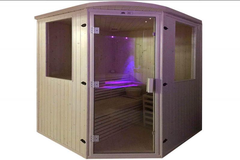 installazione GBC Sauna finlandese cosenza