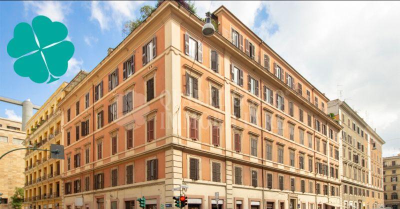 Quadrifoglio Immobiliare offerta Roma Centro Via Principe Umberto appartamento storico del 900