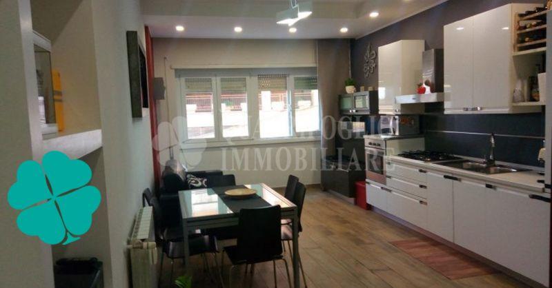 Quadrifoglio Immobiliare offerta appartamento completamente ristrutturato Roma Villa Gordiani