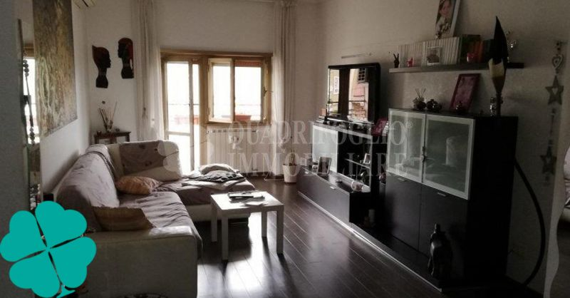 Quadrifoglio Immobiliare offerta vendita luminoso appartamento fermata metro C Teano