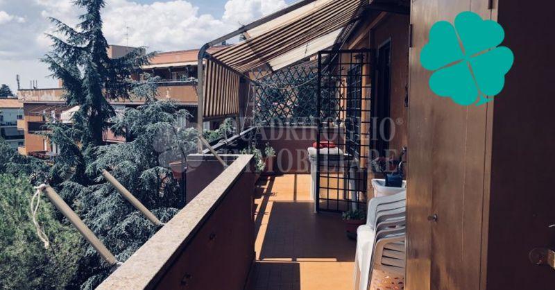 Quadrifoglio Immobiliare appartamento panoramico in residence signorile immerso nel verde