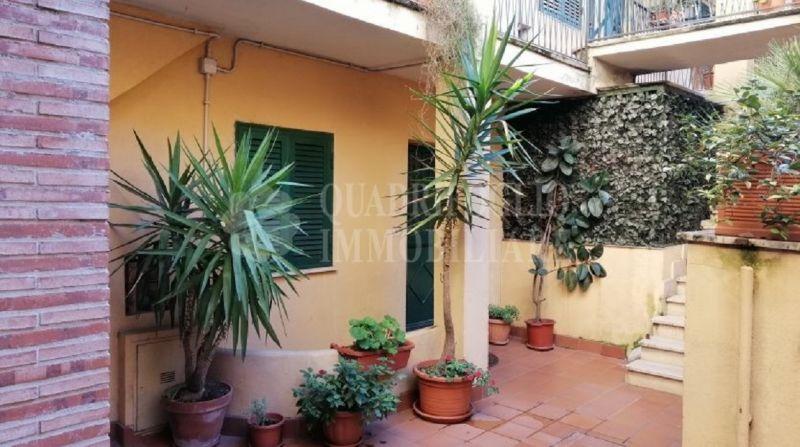 QUADRIFOGLIO IMMOBILIARE Offerta vendita appartamento ingresso indipendente Roma Mandrione