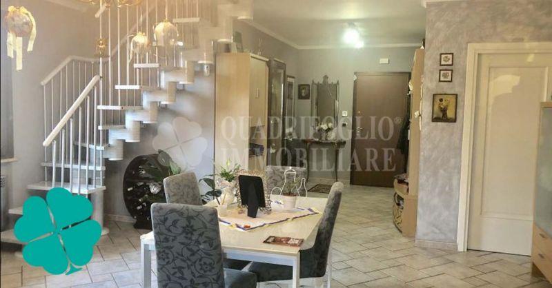 Offerta vendita villa bifamiliare su due livelli a Roma Marco Simone