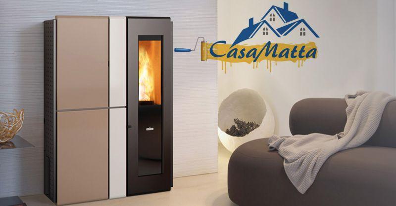 offerta vendita termostufa a pellet Ravelli Roma - occasione stufa Ravelli HR 160 SNELLA