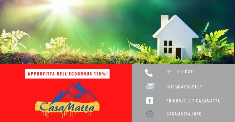offerta ristrutturazioni roma ecobonus centodieci - occasione finanziamento eco bonus pomezia