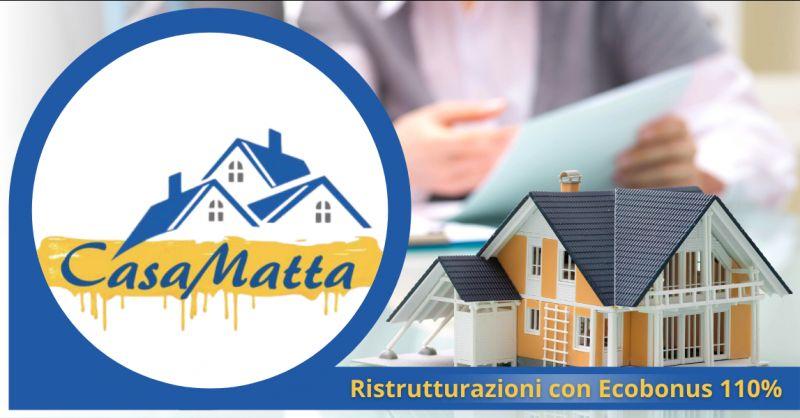 CASAMATTA Offerta imprese ecobonus centodieci roma - occasione ecobonus ditte pomezia