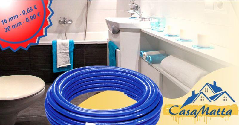 Offerta tubo multistrato 16 mm pomezia - occasione vendita tubo multistrato diametro 20 roma