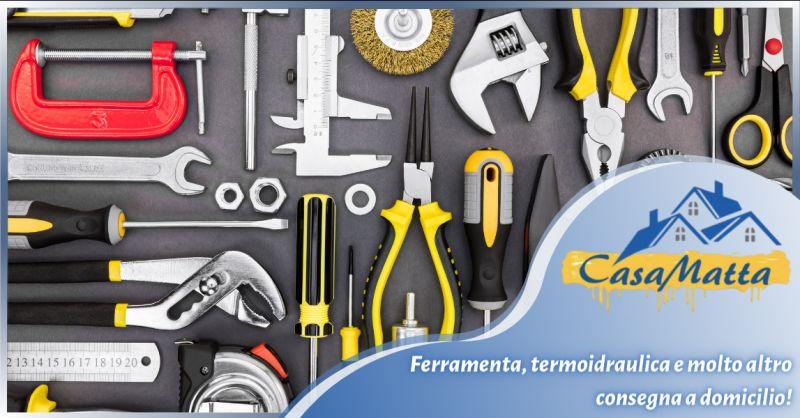 Offerta ferramenta a domicilio Pomezia - occasione termoidraulica consegna a domicilio Roma Sud