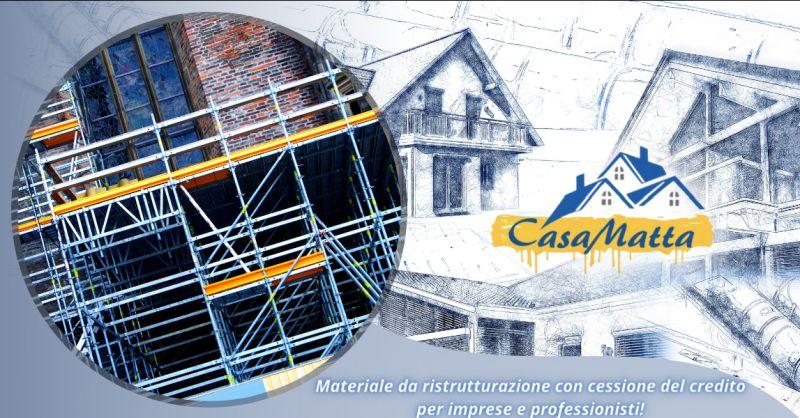 Offerta materiale per ristrutturazione detraibile Pomezia - occasione fornitura materiale Roma