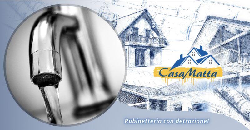 Offerta vendita rubinetteria con detrazione Pomezia - occasione vendita rubinetteria Roma