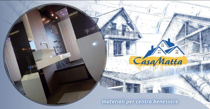 Offerta ceramiche per centro benessere Roma - occasione rubinetteria centro wellness Pomezia