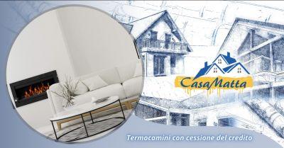 offerta vendita termocamini con cessione del credito roma occasione termocamini pomezia