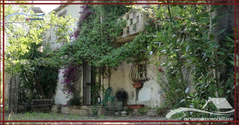 ORTONAIMMOBILIARE - Occasione vendita casa con terreno di proprietà in campagna ad Ortona
