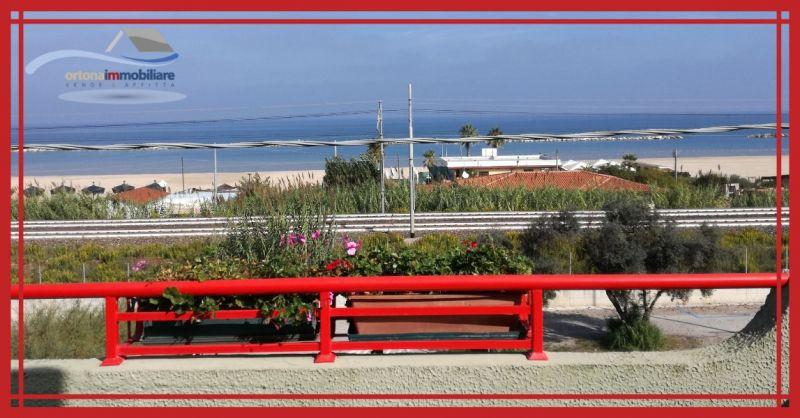 ORTONAIMMOBILIARE - Предложение о продаже апартаментов в жилом комплексе с видом на море на побережье Абруццо