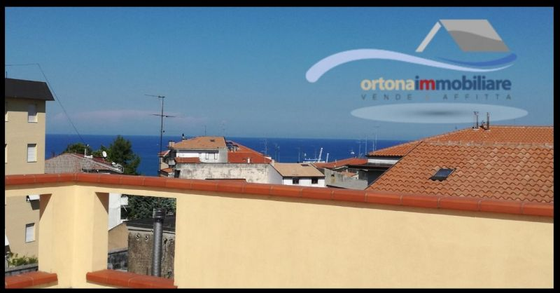 ORTONAIMMOBILIARE - OFFER FOR SALE VILLA WITH TAVERN AND GARAGE AND TERRACES SEA VIEW IN ORTONA
