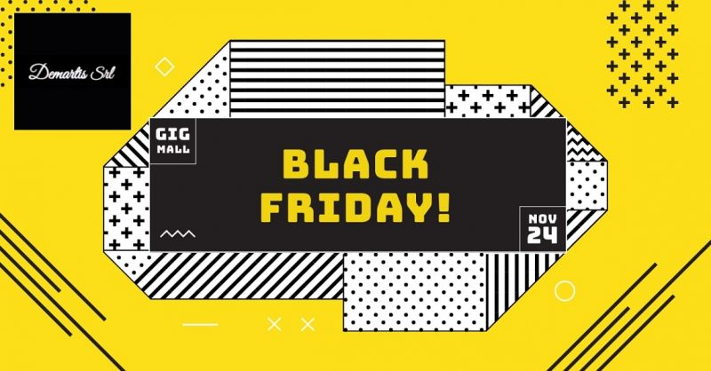 Demartis srl offerta black friday day - occasione prodotti scontati