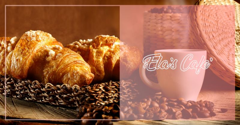ELAS CAFE offerta cornetti caldi e caffe padula - occasione colazione al bar padula