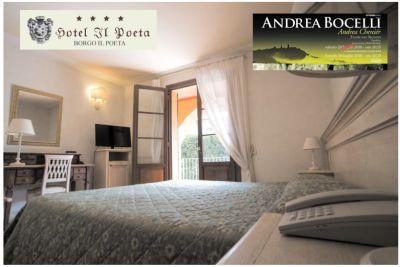 promozione camera matrimoniale hotel il poeta offerta hotel concerto bocelli a laiatico
