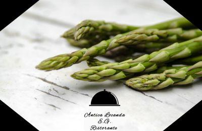 offerta ristorante specialita di asparagi a santena promozione pietanze con asparagi a torino