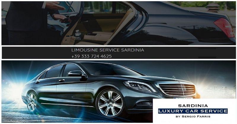 Sardinia Luxury Car Service OFFERTA SERVIZIO NOLEGGIO CON CONDUCENTE AUTO MINIBUS