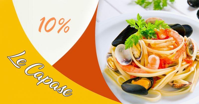 Offerta Coupon cucina tipica salentina in trattoria -  Trattoria Le Capase
