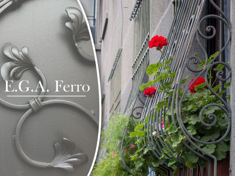 Offerta vendita e distribuzione inferriate in ferro per abitazioni a Salerno - E.G.A. Ferro