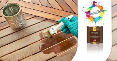 offerta servizio vendita impregnante professionale per legno duco a salerno prato color