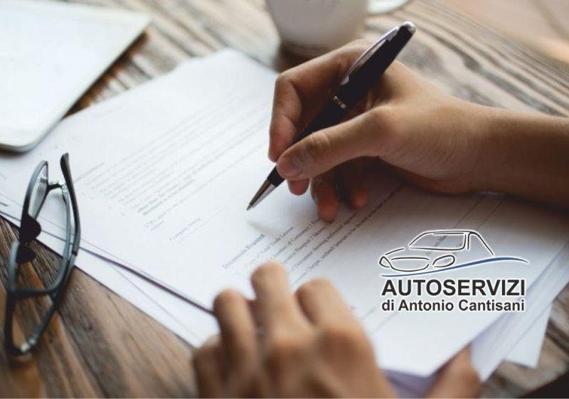 AUTOSERVIZI DI ANTONIO CANTISANI offerta ritiro documenti legali - consegna documenti riservati
