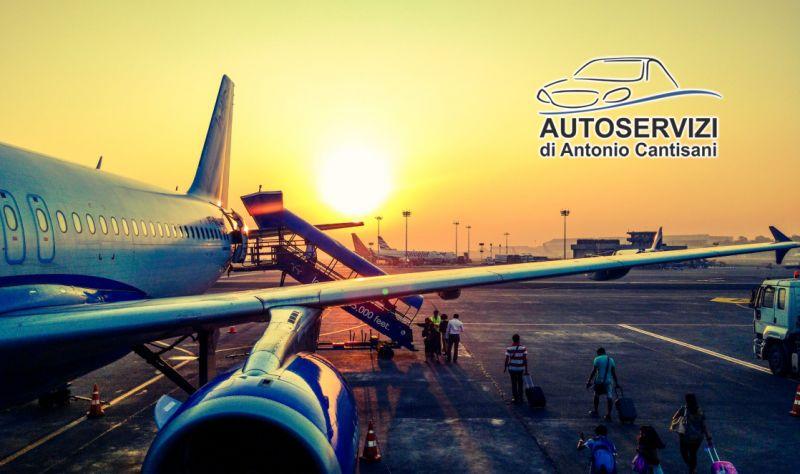 AUTOSERVIZI DI ANTONIO CANTISANI offerta servizio taxi privato per malpensa -transfer aeroporto