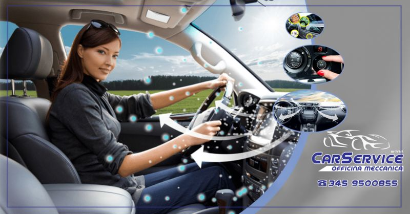 Offerta servizio ricarica aria condizionata e igienizzazione abitacolo a Salerno - Car Service