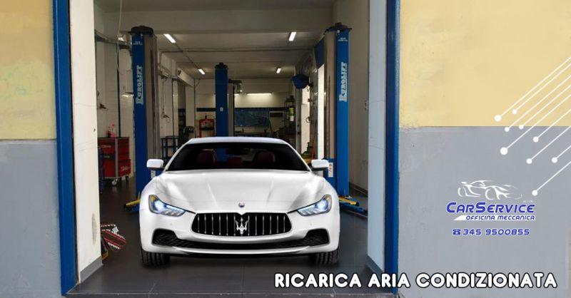 CARSERVICE BY IVAN Offerta servizio professionale ricarica aria condizionata Salerno