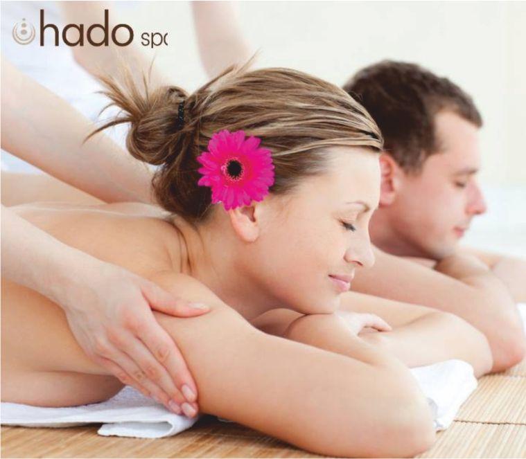 HADO SPA offerta trattamento relax di coppia con aperitivo - promozione benessere lui lei