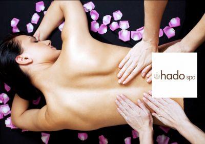hado spa offerta massaggio a 4 mani promozione massaggio olistico a quattro mani