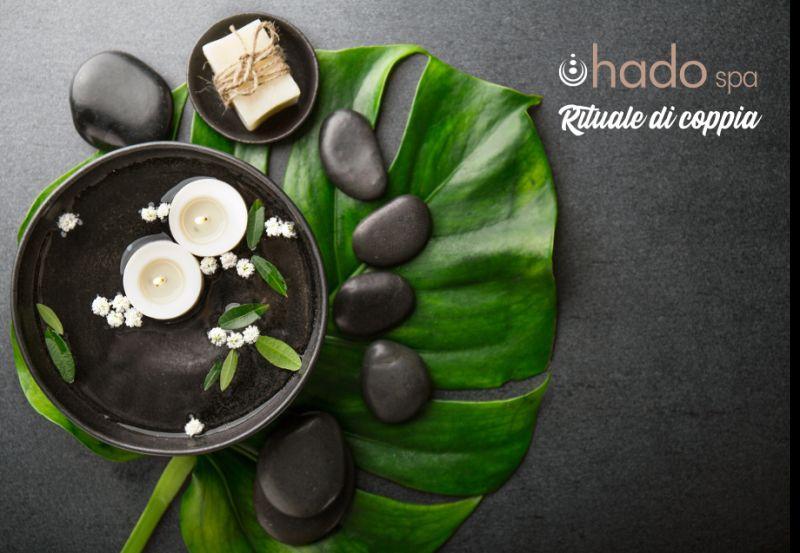 HADO SPA offerta rituale di coppia - promozione massaggio di coppi in suite lui lei