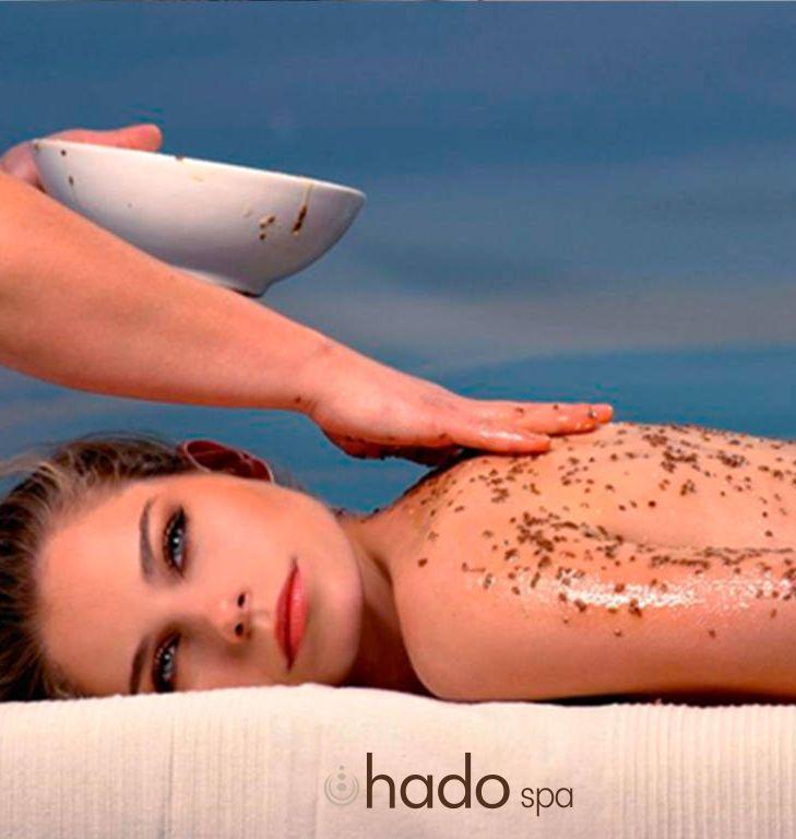 HADO SPA offerta scrub al miele Sali mar morto - promozione trattamento esfoliante
