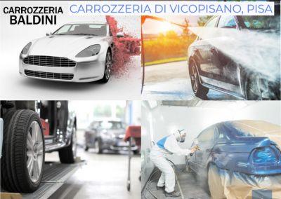 promozione carrozzeria a vicopisano offerta riparazione auto e moto a in provincia di pisa