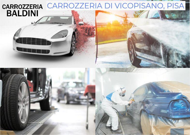 PROMOZIONE CARROZZERIA A VICOPISANO - OFFERTA RIPARAZIONE AUTO E MOTO A IN PROVINCIA DI PISA