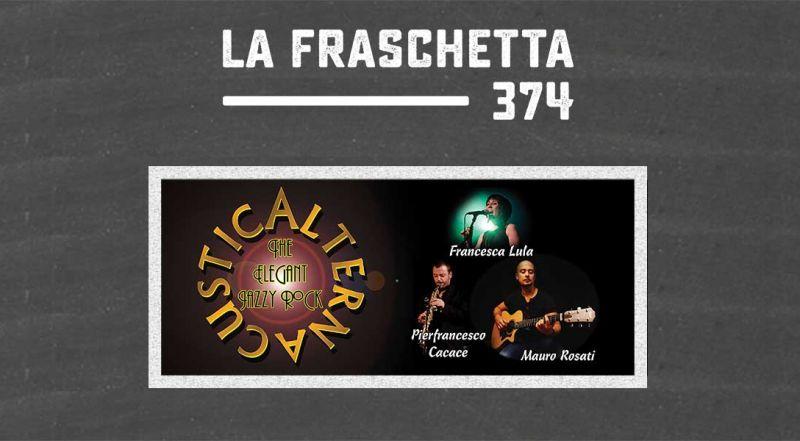 Occasione musica dal vivo pop e rock Roma - Offerta fraschetta zona Eur