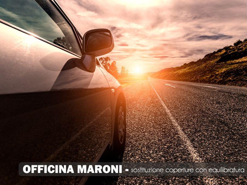 Offerta  servizio sostituzione coperture con equilibratura professionale - Officina Maroni