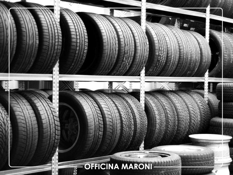 Offerta Servizio Deposito pneumatici specializzato a Torino - Officina Maroni