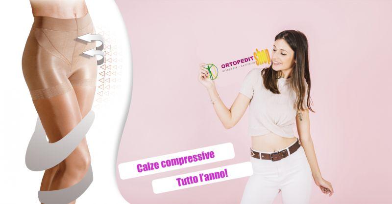 Offerta vendita calze compressive uomo donna Conegliano - Ortopedia Italiana