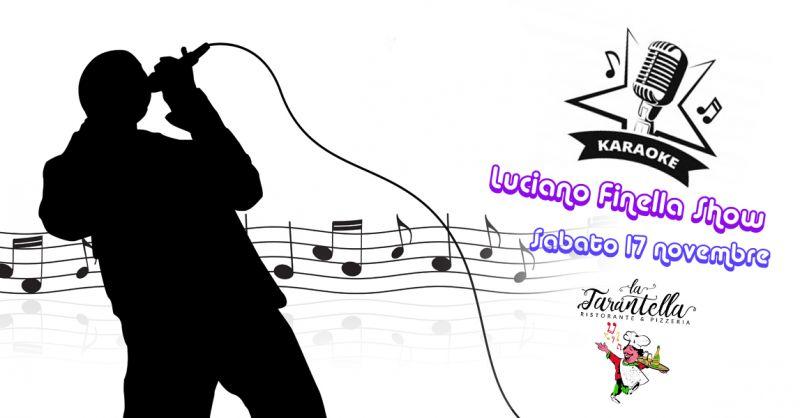 RISTORANTE LA TARANTELLA Offerta evento karaoke Canta che ti Passa Giffoni Valle Piana Salerno
